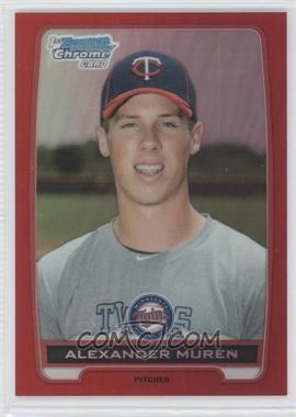 2012 Bowman Draft Picks & Prospects - Chrome Draft Picks - Red Refractors #BDPP85 - Alexander Muren /5