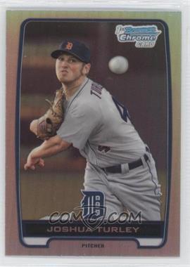 2012 Bowman Draft Picks & Prospects - Chrome Draft Picks - Refractors #BDPP108 - Joshua Turley