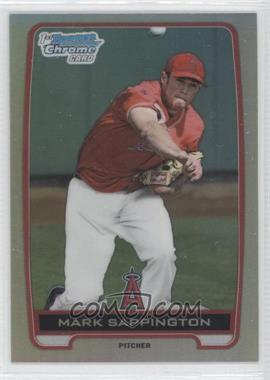 2012 Bowman Draft Picks & Prospects - Chrome Draft Picks - Refractors #BDPP115 - Mark Sappington