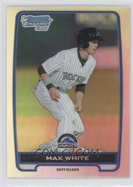 2012 Bowman Draft Picks & Prospects - Chrome Draft Picks - Refractors #BDPP119 - Max White
