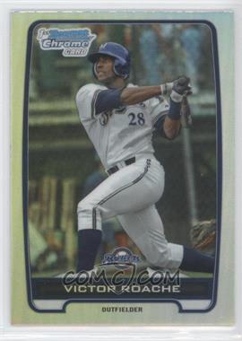 2012 Bowman Draft Picks & Prospects - Chrome Draft Picks - Refractors #BDPP13 - Victor Roache