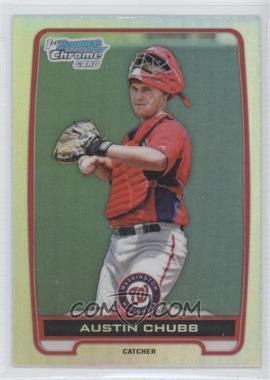 2012 Bowman Draft Picks & Prospects - Chrome Draft Picks - Refractors #BDPP139 - Austin Chubb