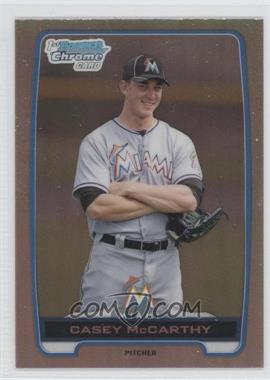 2012 Bowman Draft Picks & Prospects - Chrome Draft Picks - Refractors #BDPP149 - Casey McCarthy