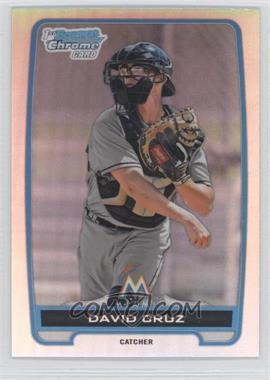 2012 Bowman Draft Picks & Prospects - Chrome Draft Picks - Refractors #BDPP152 - David Cruz
