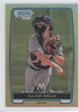2012 Bowman Draft Picks & Prospects - Chrome Draft Picks - Refractors #BDPP152 - David Cruz