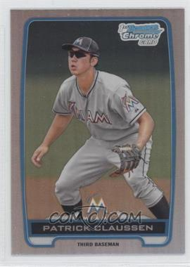 2012 Bowman Draft Picks & Prospects - Chrome Draft Picks - Refractors #BDPP156 - Patrick Claussen