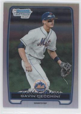 2012 Bowman Draft Picks & Prospects - Chrome Draft Picks - Refractors #BDPP17 - Gavin Cecchini