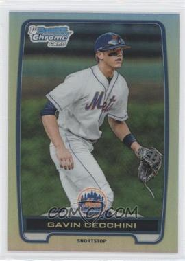 2012 Bowman Draft Picks & Prospects - Chrome Draft Picks - Refractors #BDPP17 - Gavin Cecchini