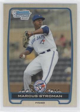 2012 Bowman Draft Picks & Prospects - Chrome Draft Picks - Refractors #BDPP35 - Marcus Stroman