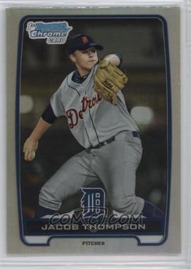 2012 Bowman Draft Picks & Prospects - Chrome Draft Picks - Refractors #BDPP38 - Jacob Thompson