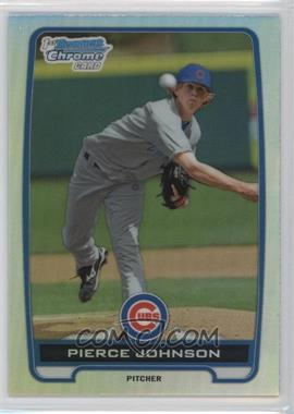 2012 Bowman Draft Picks & Prospects - Chrome Draft Picks - Refractors #BDPP4 - Pierce Johnson