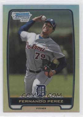 2012 Bowman Draft Picks & Prospects - Chrome Draft Picks - Refractors #BDPP50 - Fernando Perez