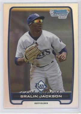2012 Bowman Draft Picks & Prospects - Chrome Draft Picks - Refractors #BDPP60 - Bralin Jackson