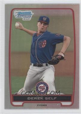 2012 Bowman Draft Picks & Prospects - Chrome Draft Picks - Refractors #BDPP65 - Derek Self