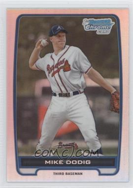2012 Bowman Draft Picks & Prospects - Chrome Draft Picks - Refractors #BDPP77 - Mike Dodig