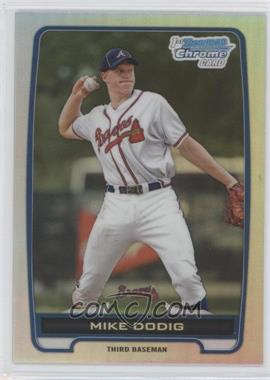 2012 Bowman Draft Picks & Prospects - Chrome Draft Picks - Refractors #BDPP77 - Mike Dodig