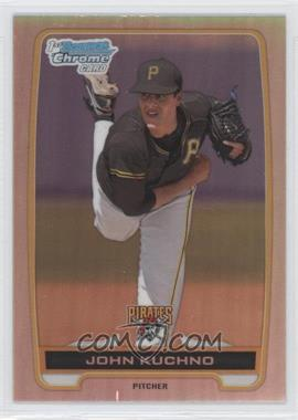 2012 Bowman Draft Picks & Prospects - Chrome Draft Picks - Refractors #BDPP78 - John Kuchno