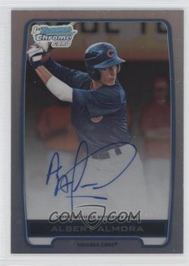 2012 Bowman Draft Picks & Prospects - Chrome Draft Picks Certified Autographs - Refractor [Autographed] #BCA-AA - Albert Almora