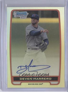 2012 Bowman Draft Picks & Prospects - Chrome Draft Picks Certified Autographs - Refractor [Autographed] #BCA-DM - Deven Marrero