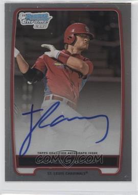 2012 Bowman Draft Picks & Prospects - Chrome Draft Picks Certified Autographs - Refractor [Autographed] #BCA-JR - James Ramsey