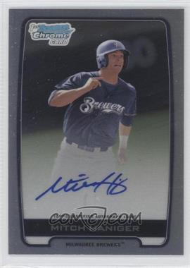 2012 Bowman Draft Picks & Prospects - Chrome Draft Picks Certified Autographs - Refractor [Autographed] #BCA-MH - Mitch Haniger