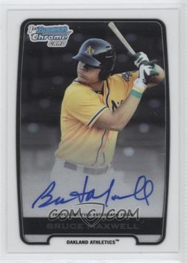 2012 Bowman Draft Picks & Prospects - Chrome Draft Picks Certified Autographs #BCA-BM - Bruce Maxwell
