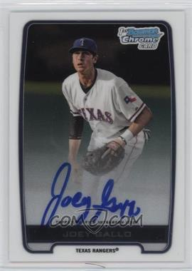 2012 Bowman Draft Picks & Prospects - Chrome Draft Picks Certified Autographs #BCA-JG - Joey Gallo