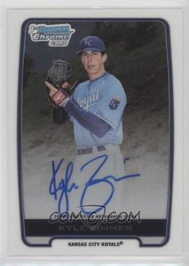 2012 Bowman Draft Picks & Prospects - Chrome Draft Picks Certified Autographs #BCA-KZ - Kyle Zimmer