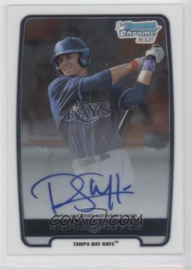 2012 Bowman Draft Picks & Prospects - Chrome Draft Picks Certified Autographs #BCA-RS - Richie Shaffer