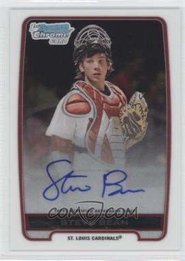 2012 Bowman Draft Picks & Prospects - Chrome Draft Picks Certified Autographs #BCA-SB - Steve Bean