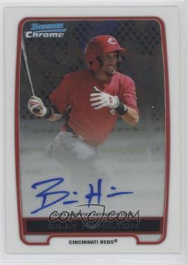 2012 Bowman Draft Picks & Prospects - Chrome Prospects Certified Autographs - [Autographed] #BCA-BH - Billy Hamilton