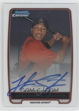 2012 Bowman Draft Picks & Prospects - Chrome Prospects Certified Autographs - [Autographed] #BCA-JS - Jonathan Singleton