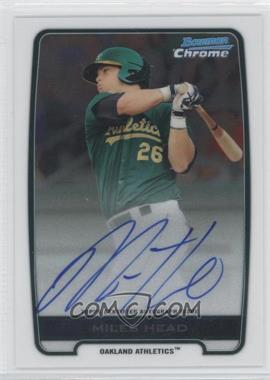 2012 Bowman Draft Picks & Prospects - Chrome Prospects Certified Autographs - [Autographed] #BCA-MH - Miles Head
