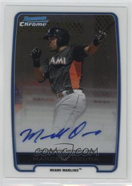 2012 Bowman Draft Picks & Prospects - Chrome Prospects Certified Autographs - [Autographed] #BCA-MO - Marcell Ozuna