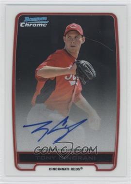 2012 Bowman Draft Picks & Prospects - Chrome Prospects Certified Autographs - [Autographed] #BCA-TC - Tony Cingrani