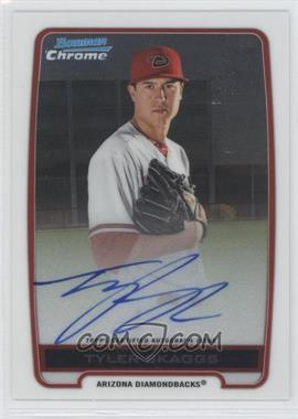 2012 Bowman Draft Picks & Prospects - Chrome Prospects Certified Autographs - [Autographed] #BCA-TS - Tyler Skaggs