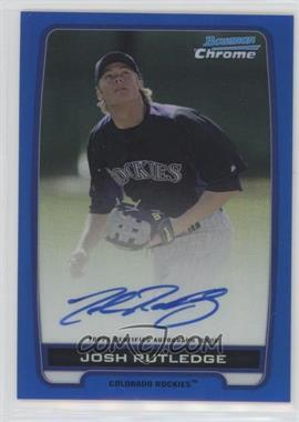 2012 Bowman Draft Picks & Prospects - Chrome Prospects Certified Autographs - Blue Refractor #BCA-JR - Josh Rutledge /150