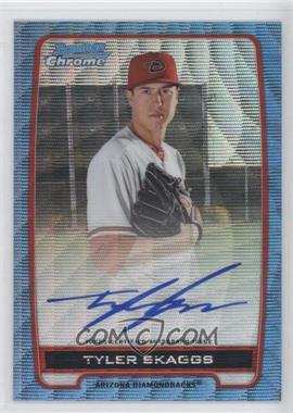 2012 Bowman Draft Picks & Prospects - Chrome Prospects Certified Autographs - Blue Wave Refractor #BCA-TS - Tyler Skaggs /50