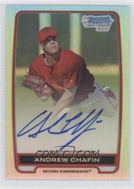 2012 Bowman Draft Picks & Prospects - Chrome Prospects Certified Autographs - Refractor #BCA-ACH - Andrew Chafin /500