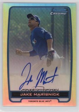 2012 Bowman Draft Picks & Prospects - Chrome Prospects Certified Autographs - Refractor #BCA-JM - Jake Marisnick /500