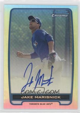2012 Bowman Draft Picks & Prospects - Chrome Prospects Certified Autographs - Refractor #BCA-JM - Jake Marisnick /500