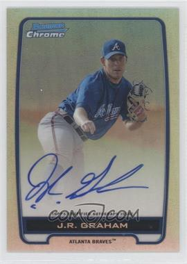 2012 Bowman Draft Picks & Prospects - Chrome Prospects Certified Autographs - Refractor #BCA-JRG - J.R. Graham /500