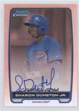 2012 Bowman Draft Picks & Prospects - Chrome Prospects Certified Autographs - Refractor #BCA-SD - Shawon Dunston Jr. /500