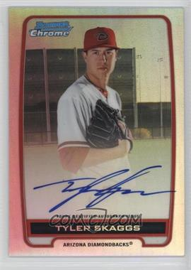 2012 Bowman Draft Picks & Prospects - Chrome Prospects Certified Autographs - Refractor #BCA-TS - Tyler Skaggs /500