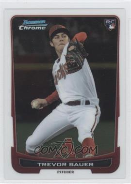 2012 Bowman Draft Picks & Prospects - Chrome #1 - Trevor Bauer