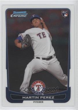 2012 Bowman Draft Picks & Prospects - Chrome #17 - Martin Perez