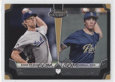 2012 Bowman Draft Picks & Prospects - Dual Top 10 Picks #TP-FL - Clayton Kershaw, Max Fried