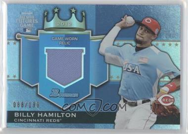 2012 Bowman Draft Picks & Prospects - Futures Game Relics #FGR-BH - Billy Hamilton /199