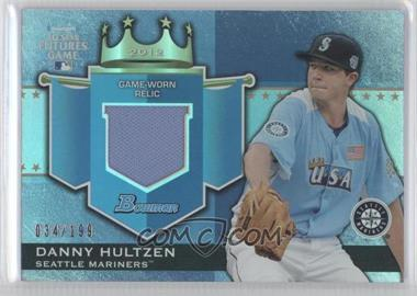 2012 Bowman Draft Picks & Prospects - Futures Game Relics #FGR-DH - Danny Hultzen /199