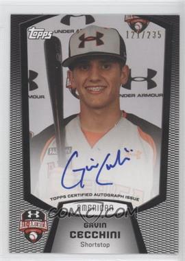 2012 Bowman Draft Picks & Prospects - Under Armour All-American Autograph - [Autographed] #UA-GC - Gavin Cecchini /235